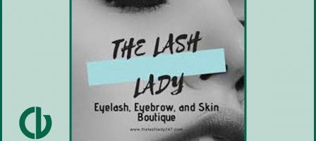 The Lash Lady promotional image, photo credits to The Lash Lady's Facebook account